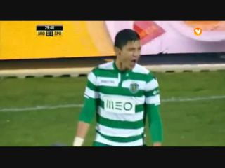 Arouca 1-3 Sporting CP - Goal by F. Montero (30')