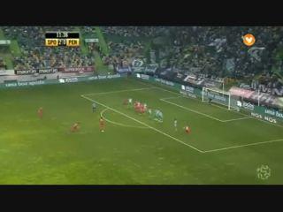 Sporting CP 3-2 Penafiel - Golo de Braga (12min)