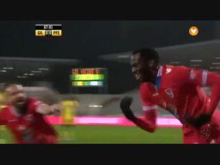 Gil Vicente 1-0 Paços de Ferreira - Golo de S. Nwankwo (68min)