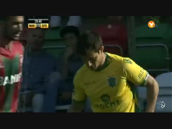 25J :: Marítimo - 0 x Sporting - 1 de 2014/2015
