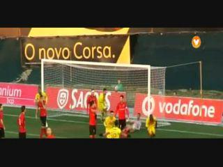 Paços de Ferreira 2-1 Penafiel - Golo de Hélder Ferreira (90min)