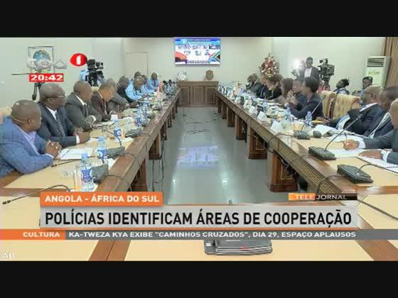 Angola - África do Sul: Polícias identificam áreas de cooperação