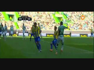 Sporting CP 2-0 União Madeira - Golo de T. Gutiérrez (7min)
