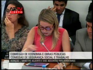 Cláudia Aguiar questiona Ministro Miguel Relvas sobre o Programa Impulso Jovem