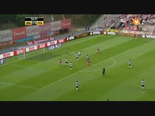 Sporting Braga 4-0 Penafiel - Golo de F. Pardo (55min)