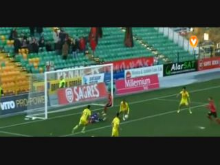 Paços de Ferreira 2-1 Penafiel - Golo de João Martins (61min)