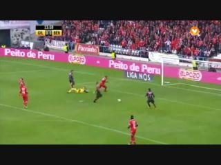 Gil Vicente 0-5 Benfica - Golo de M. Pereira (14min)