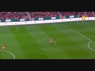Benfica 4-1 Tondela - Golo de K. Mitroglou (87min)