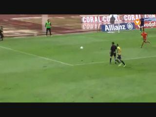 União Madeira 3-4 Paços de Ferreira - Golo de Amilton (79min)