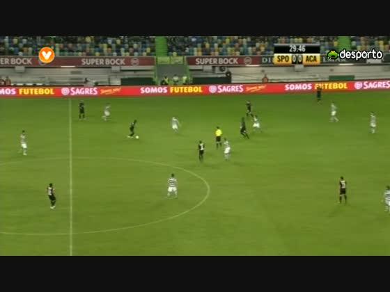 07J :: Sporting - 0 x Academica - 0 de 2012/2013