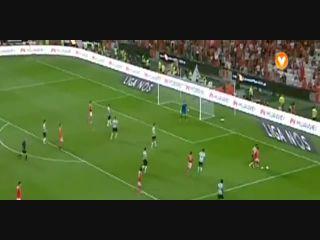 Benfica 3-2 Moreirense - Golo de A. Samaris (76min)