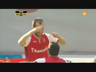 Sporting Braga 4-0 Penafiel - Golo de Rúben Micael (70min)