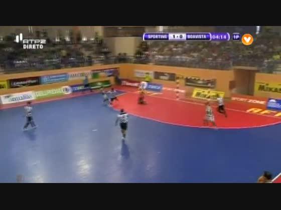 Futsal :: Play-off QF 2º Jogo :: Sporting - 7 x Boavista - 1 de 2013/2014
