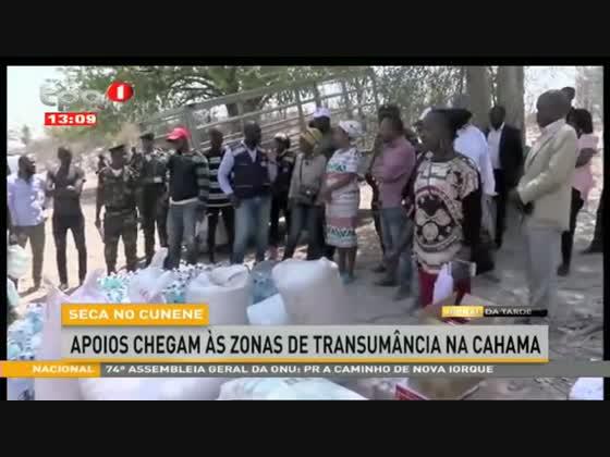 Seca no Cunene apoios chegam às zonas de trasumância na Cahama