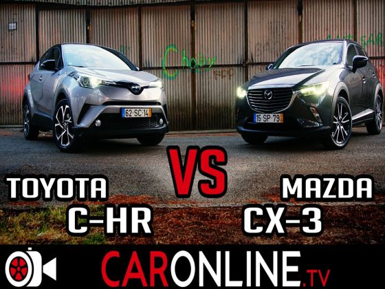 MAZDA CX-3 vs TOYOTA C-HR
