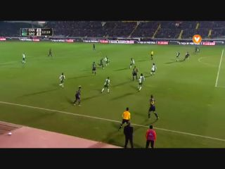 Resumo: Chaves 1-0 Sporting CP (17 January 2017)
