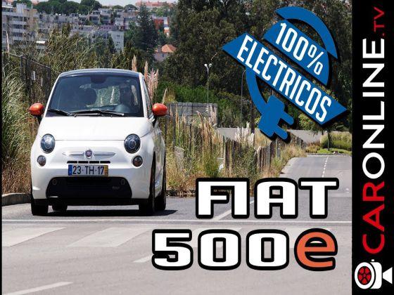 FIAT 500e 100% Eléctrico  - ÚNICO em PORTUGAL