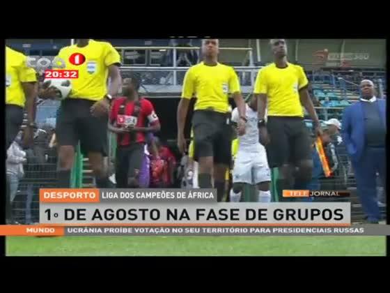 1º de Agosto na fase de grupos - Liga dos Campeões de África