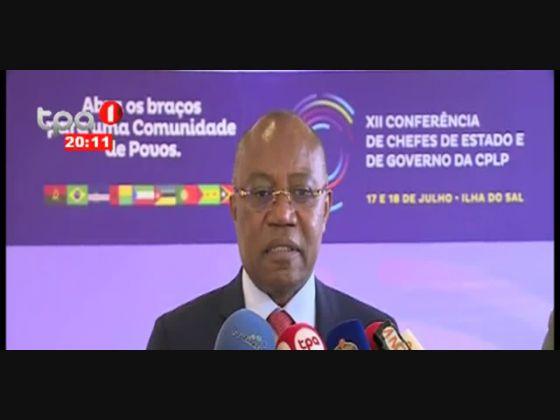 CPLP Angola assume a presidência em 2020