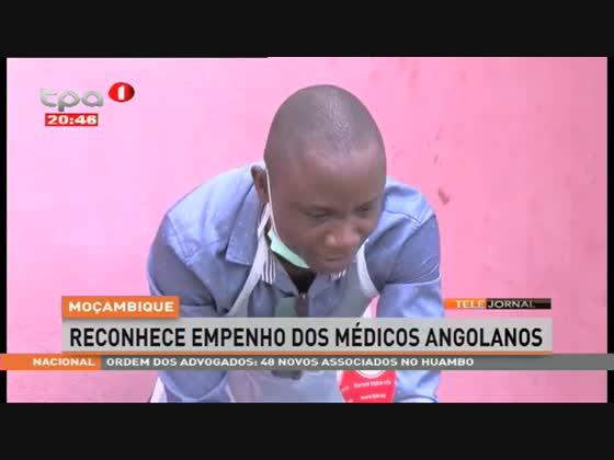 Moçambique reconhece empenho dos médicos angolanos
