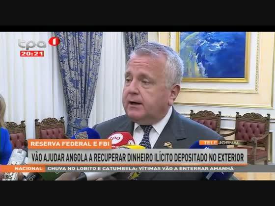 """Reserva Federal e FBI vão ajudar Angola """"Repatriamento de Capitais"""""""